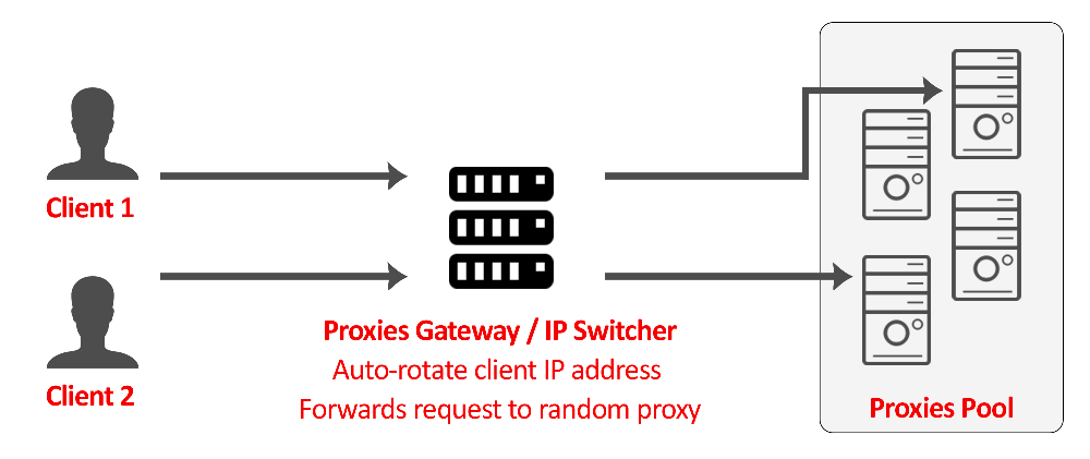 backconnect reverse proxy